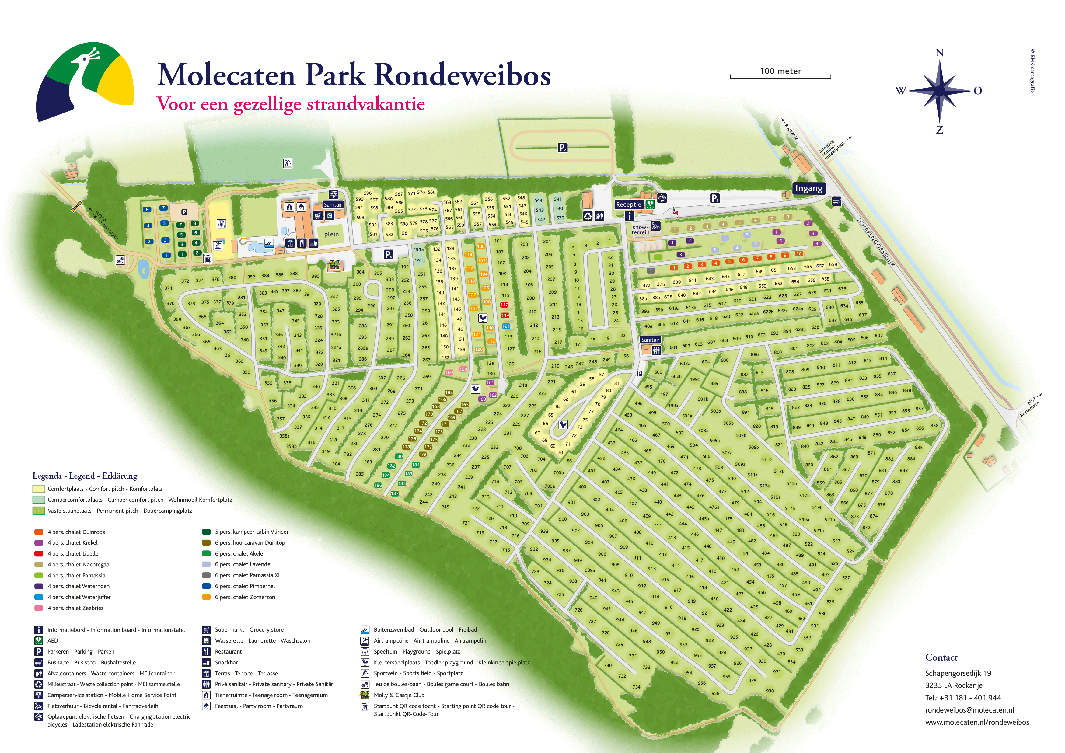 Molecaten Park Rondeweibos accommodation.parkmap.alttext