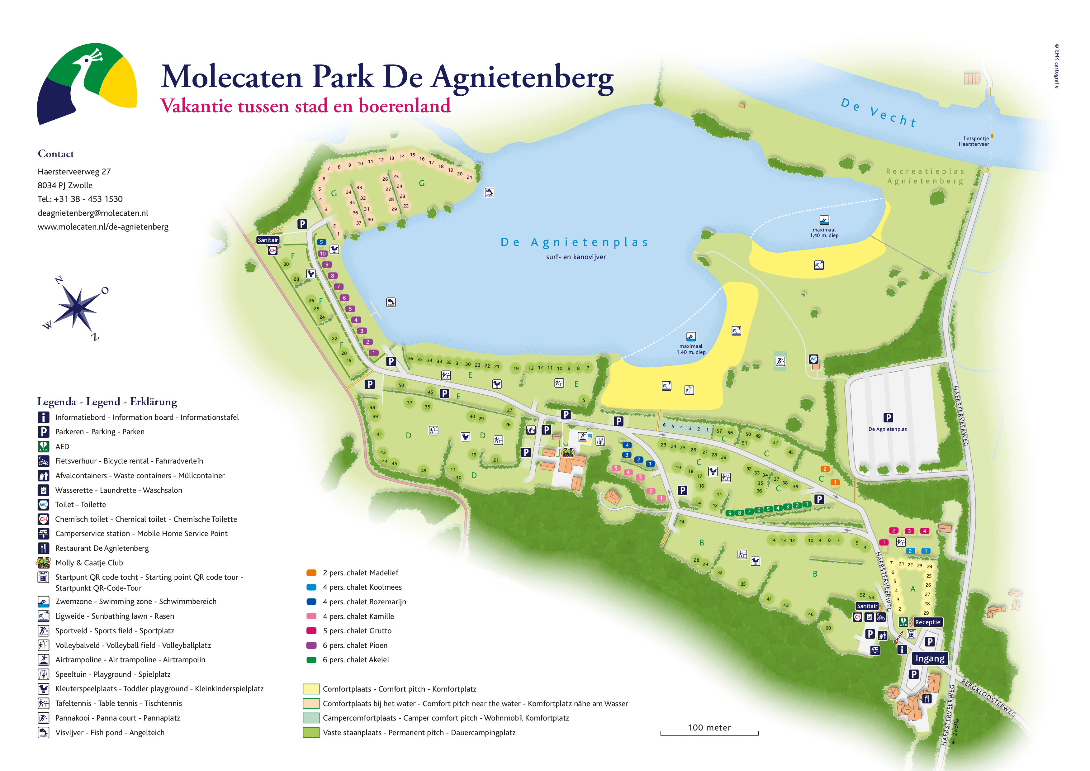 Molecaten Park De Agnietenberg accommodation.parkmap.alttext