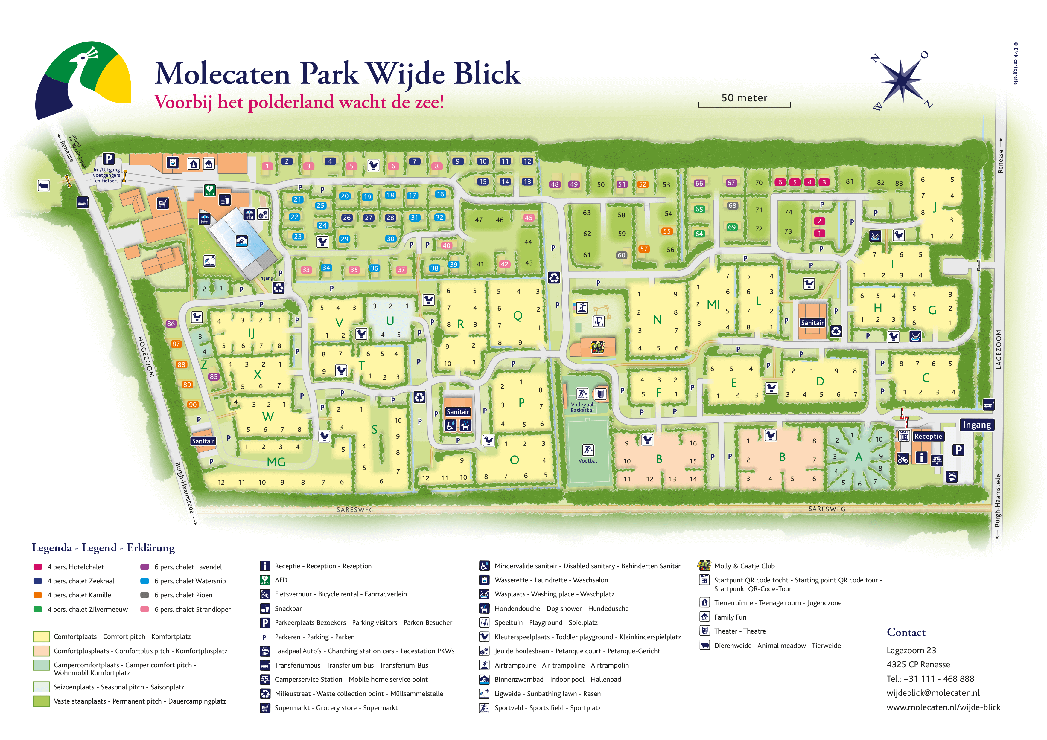 Molecaten Park Wijde Blick accommodation.parkmap.alttext