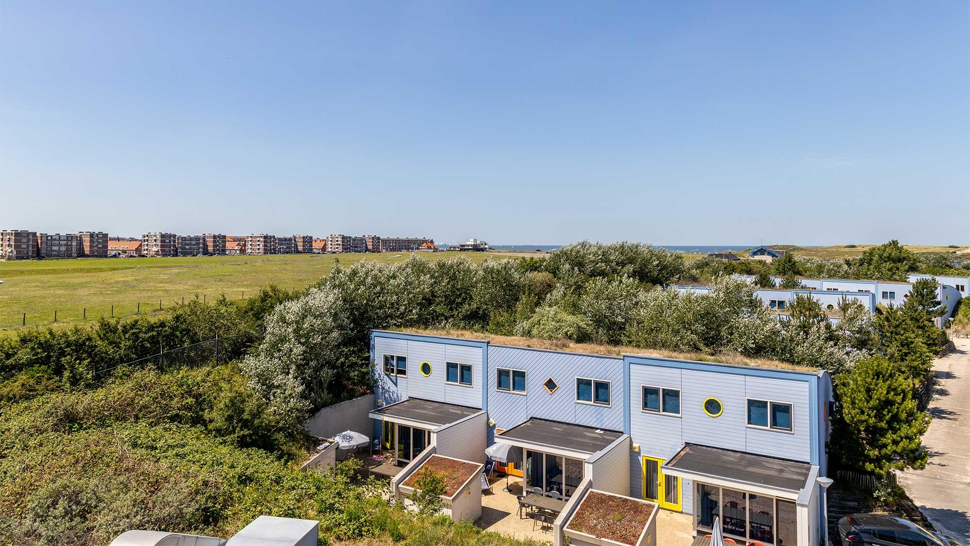 6pers bungalow Duinhuisje Molecaten Park Noordduinen 01
