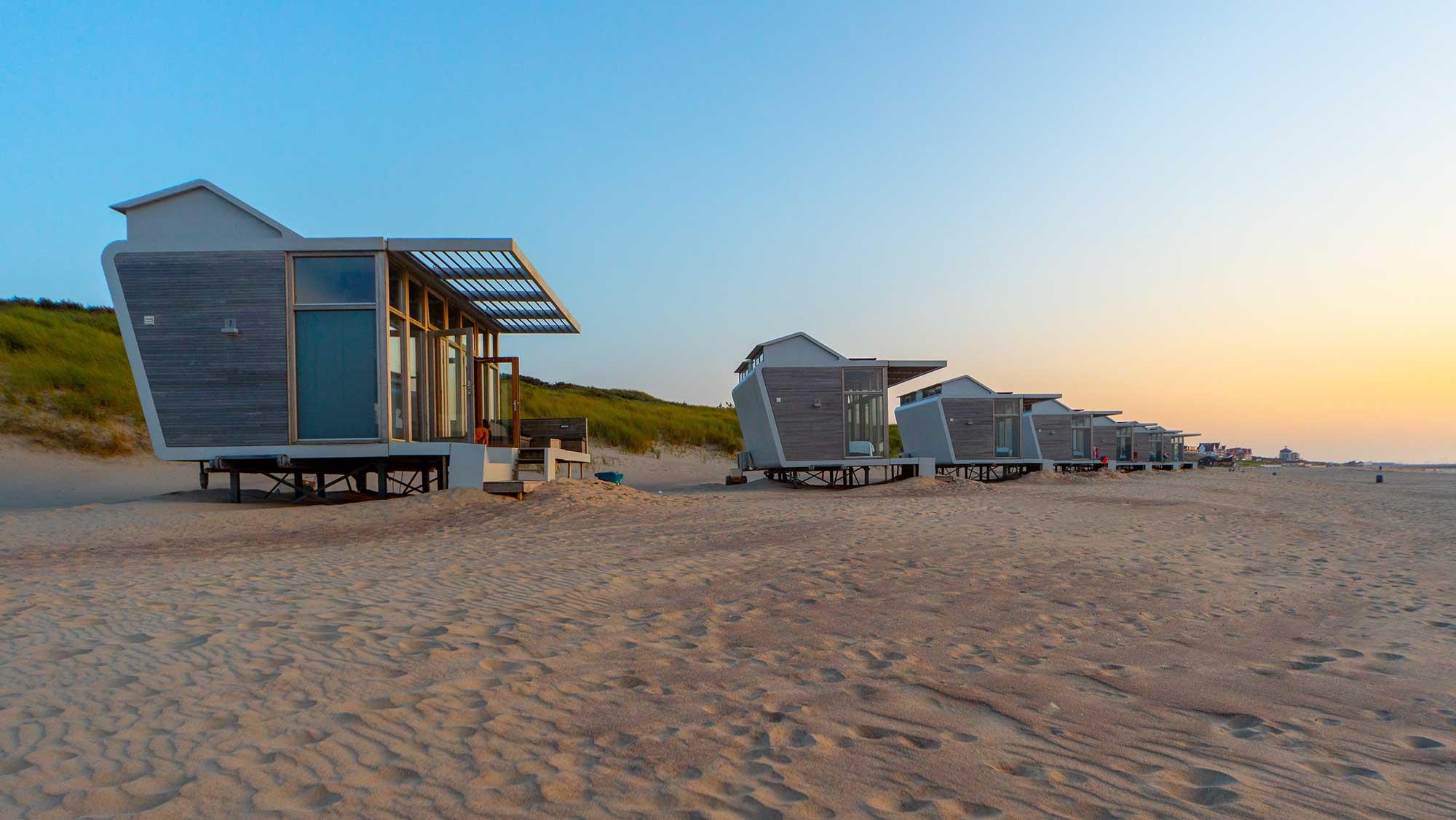 6pers strandhuisje Molecaten Park Hoogduin 10a
