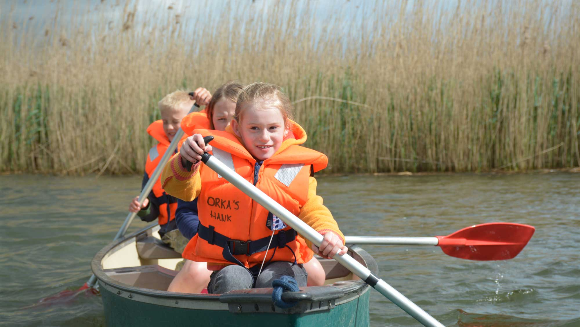 Omgeving Molecaten Park Bosbad Hoeven 05 kanoen Biesbosch