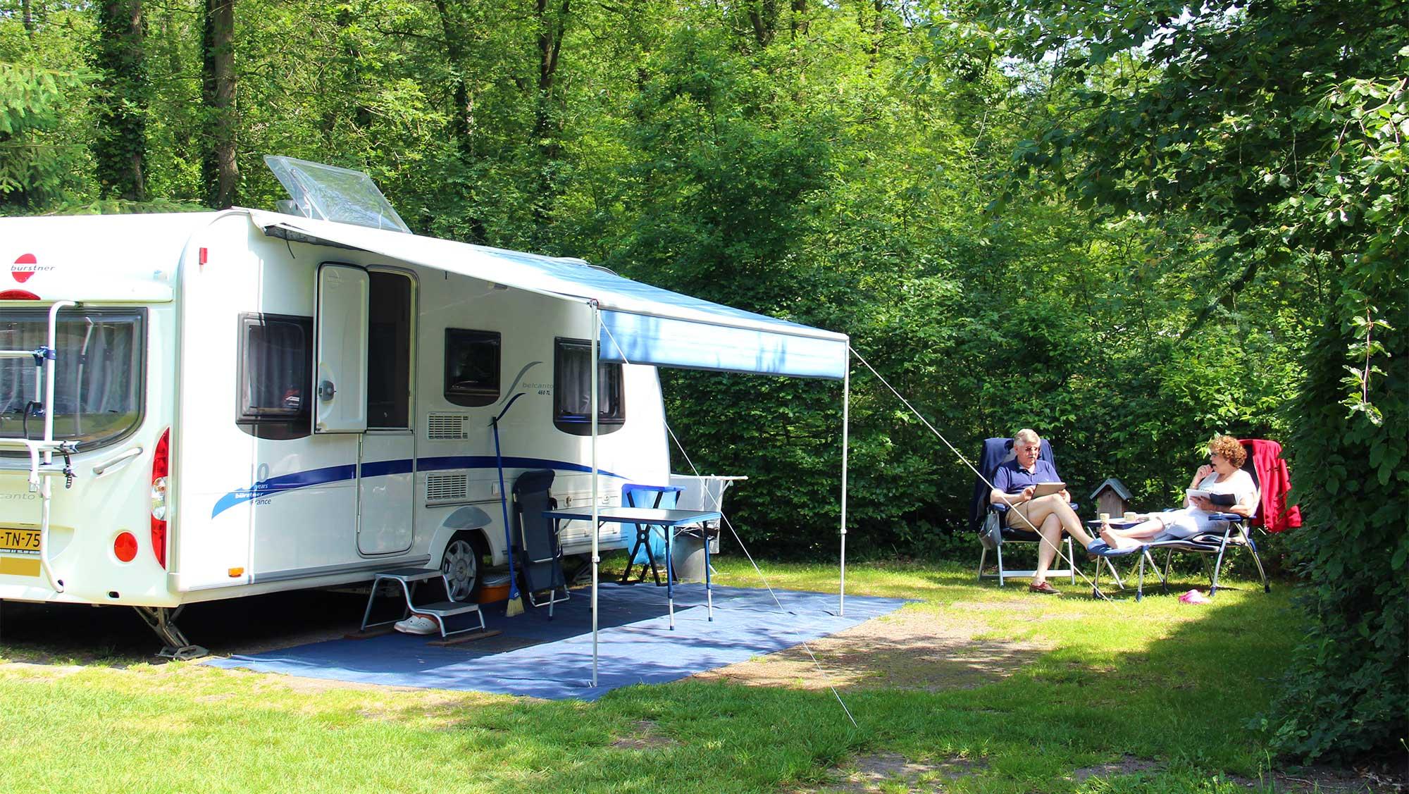Basisplaats kamperen Molecaten Park Landgoed Molecaten 14