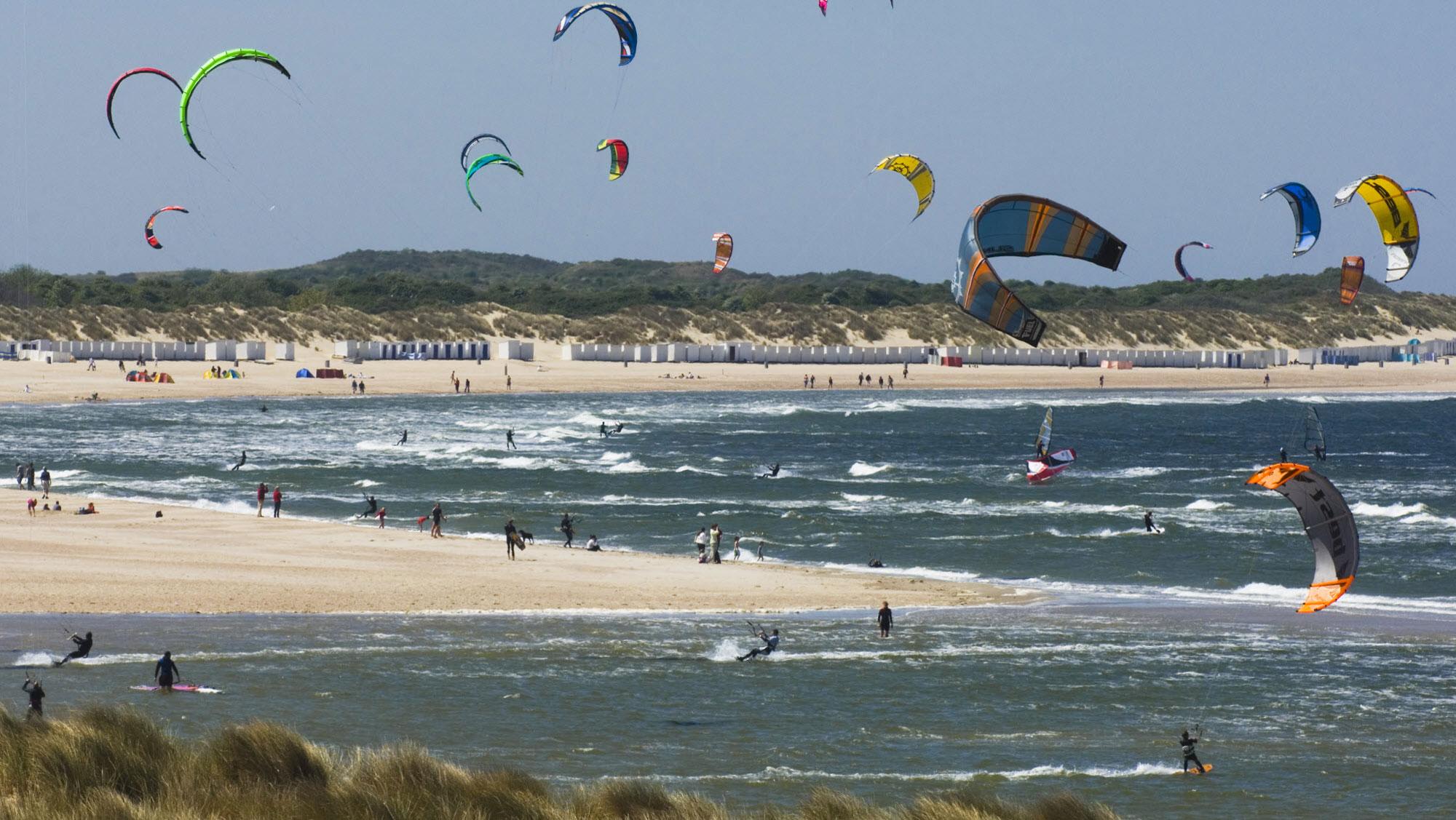 Omgeving Molecaten Park Wijde Blick 14 kitesurfen