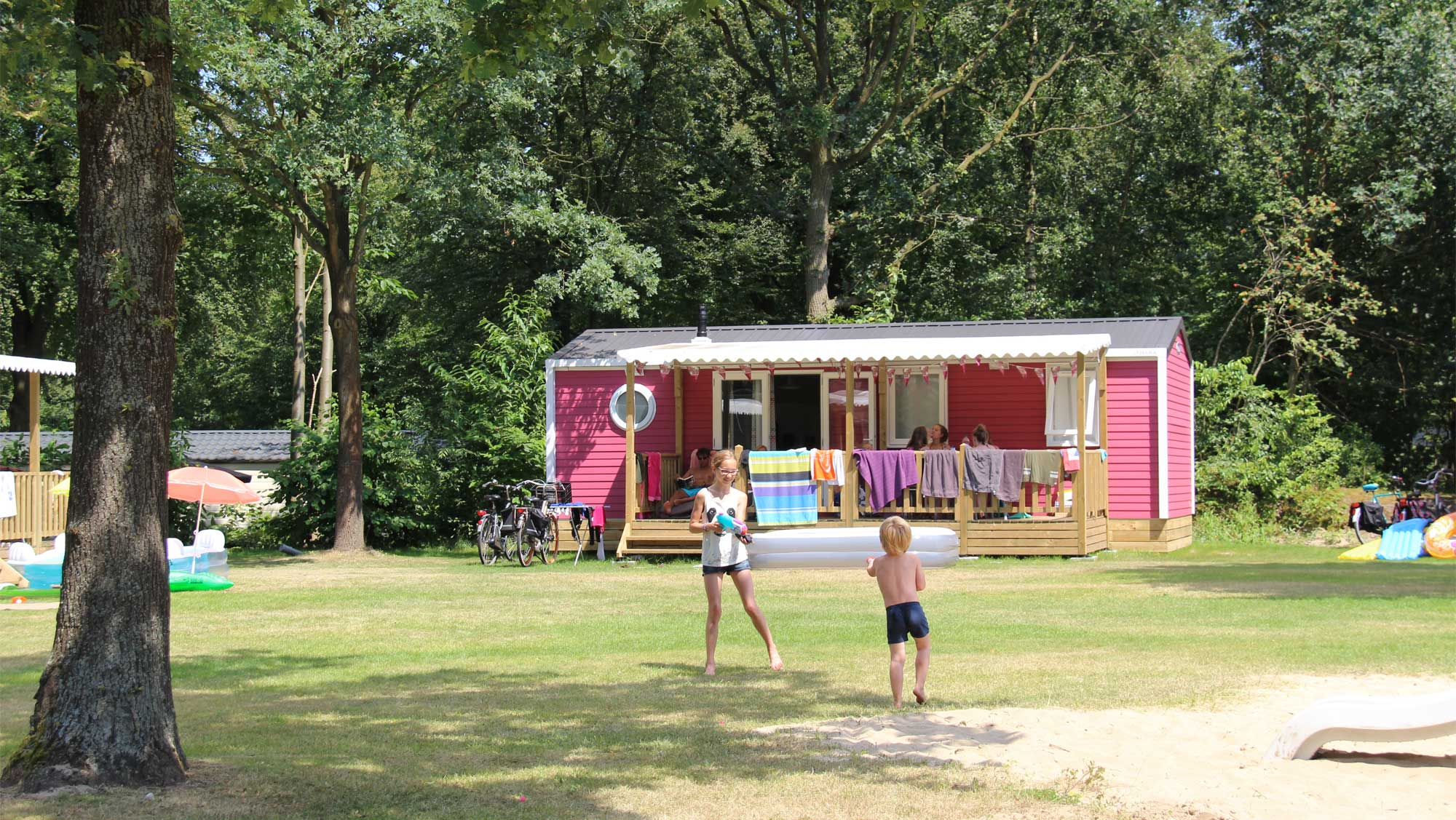 6pers chalet Lupine Molecaten Park Bosbad Hoeven 01