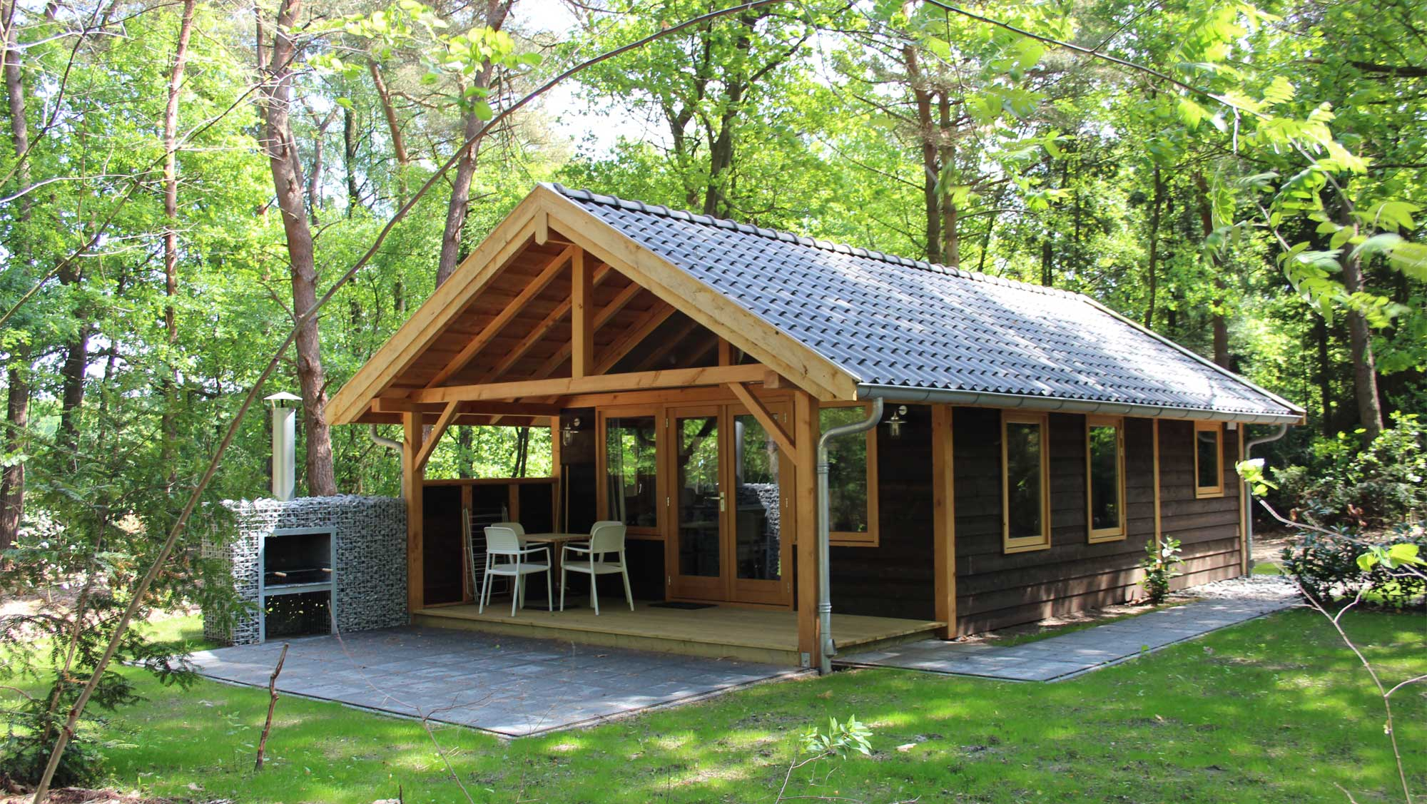 4pers bungalow Bosuil Molecaten Park De Koerberg 01