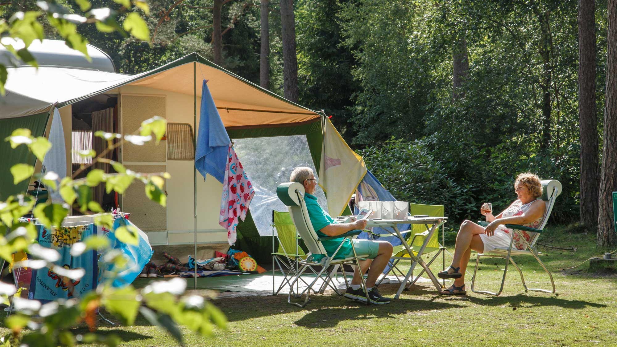 Comfortplaats kamperen Molecaten Park De Leemkule 01