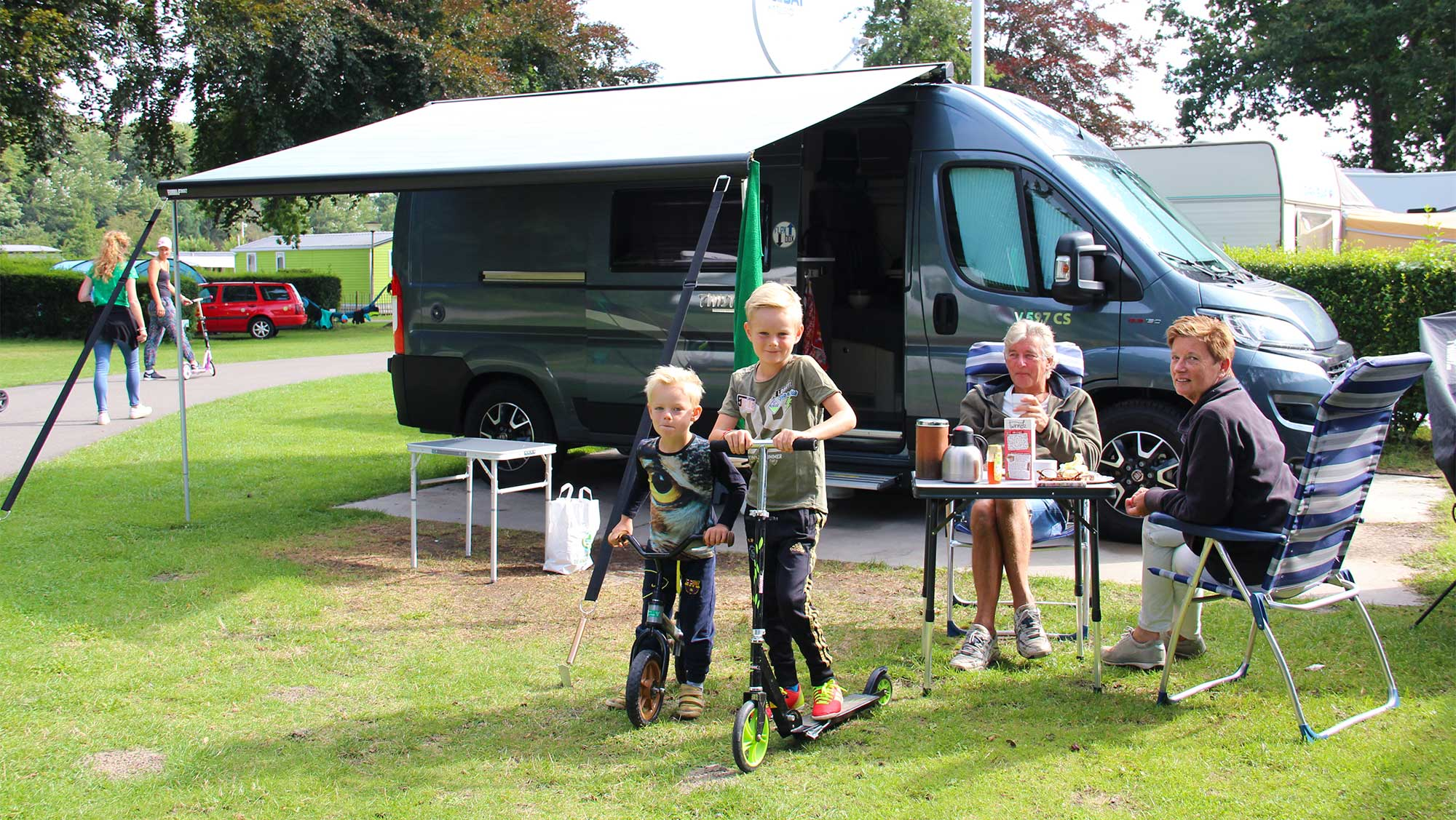 Campercomfortplaats kamperen Molecaten Park Waterbos 01