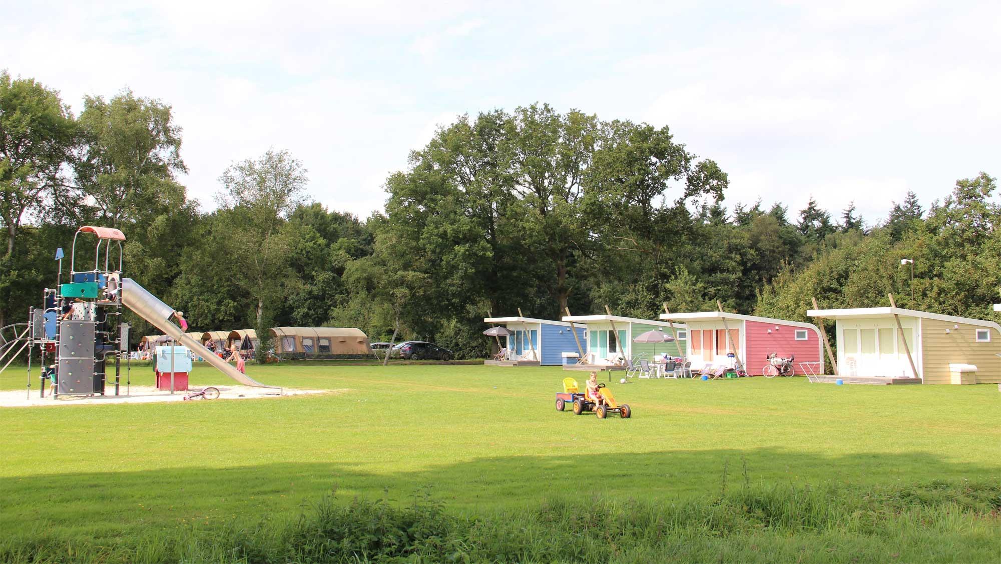 5pers kampeer cabin Vlinder Molecaten Park t Hout 01