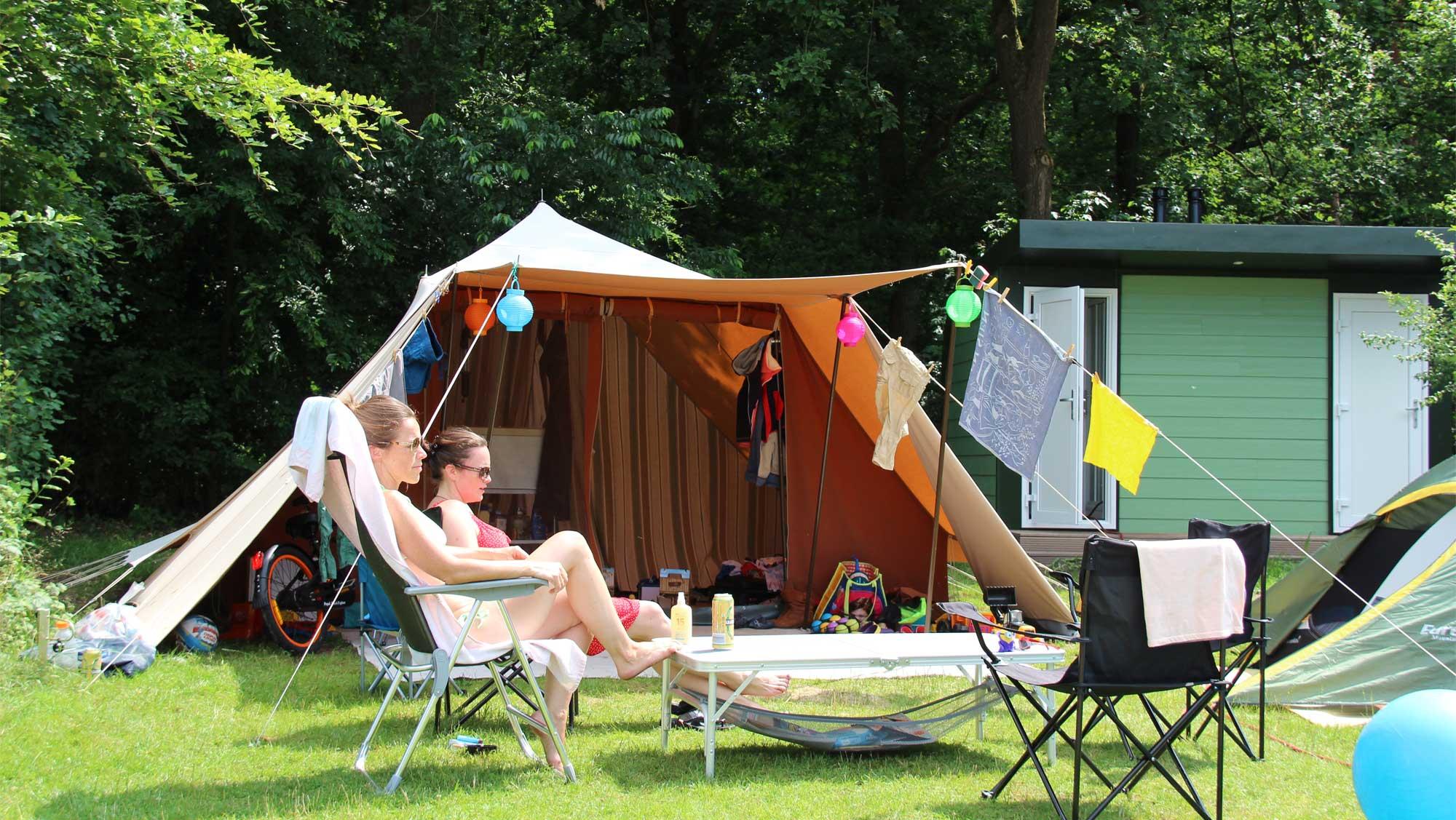 Comfortplusplaats kamperen Molecaten Park Landgoed Ginkelduin 05