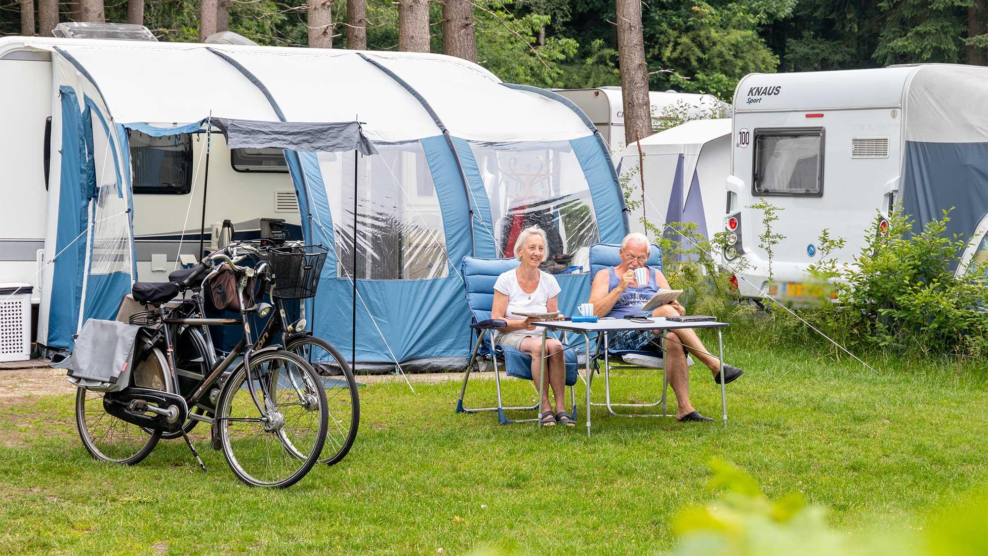Comfortplaats kamperen Molecaten Park Landgoed Ginkelduin 10