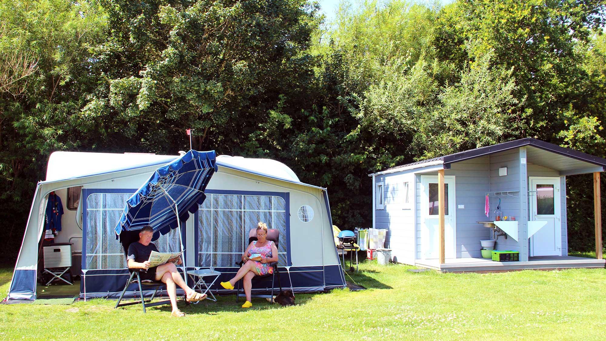 Comfortplusplaats kamperen Molecaten Park Wijde Blick 01