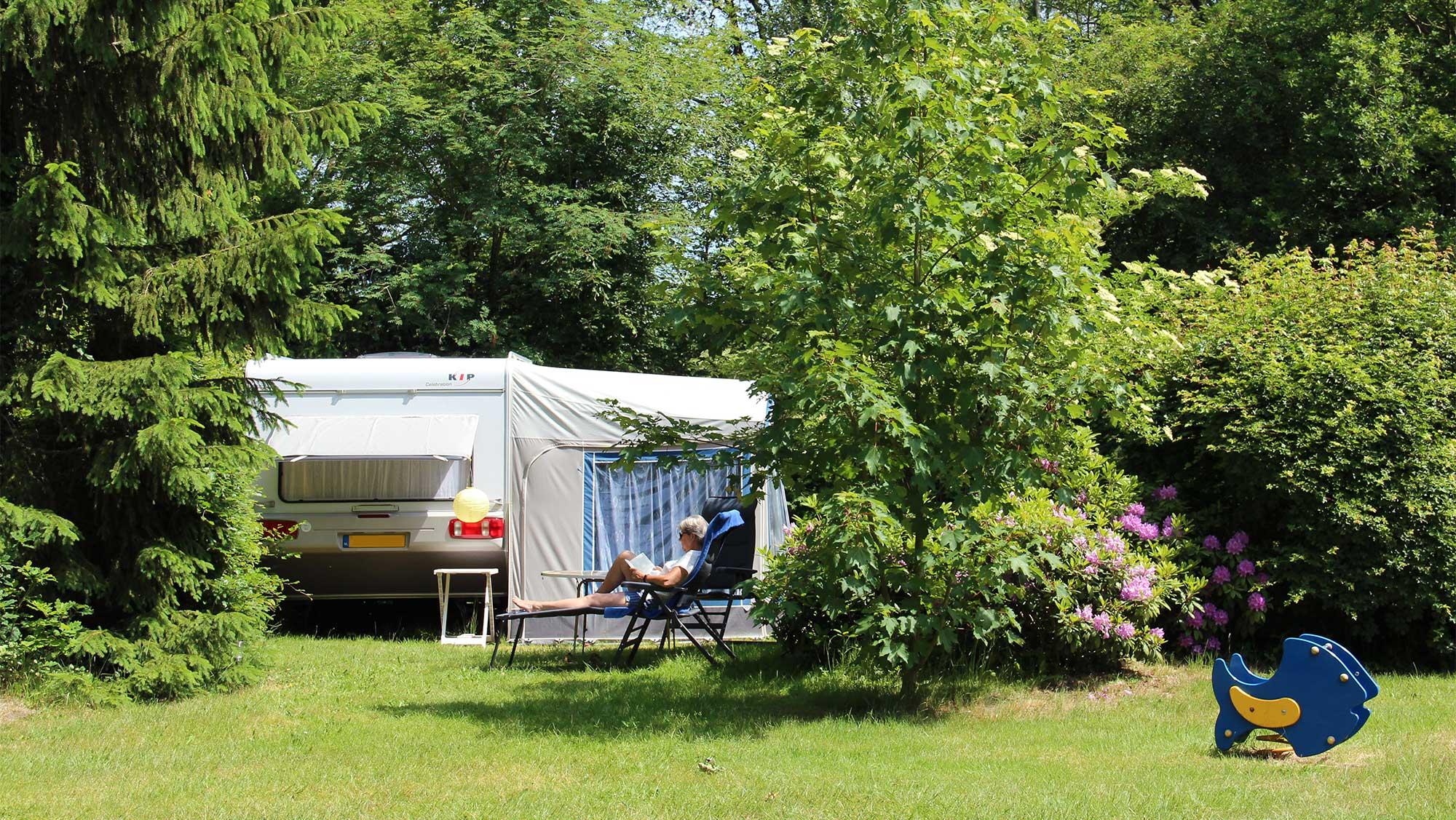 Basisplaats kamperen Molecaten Park Landgoed Molecaten 12