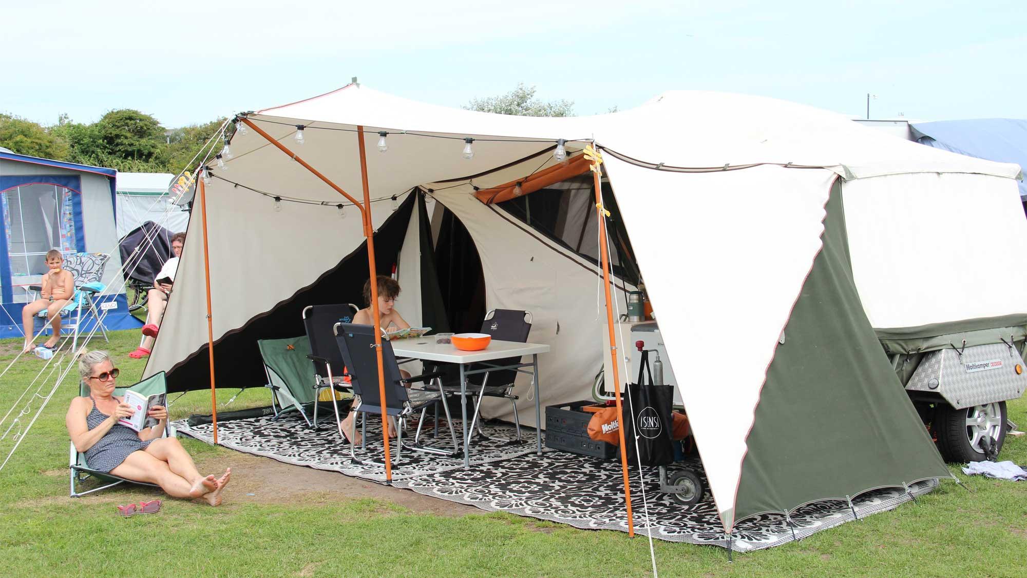 Basisplaats kamperen Molecaten Park Noordduinen 01
