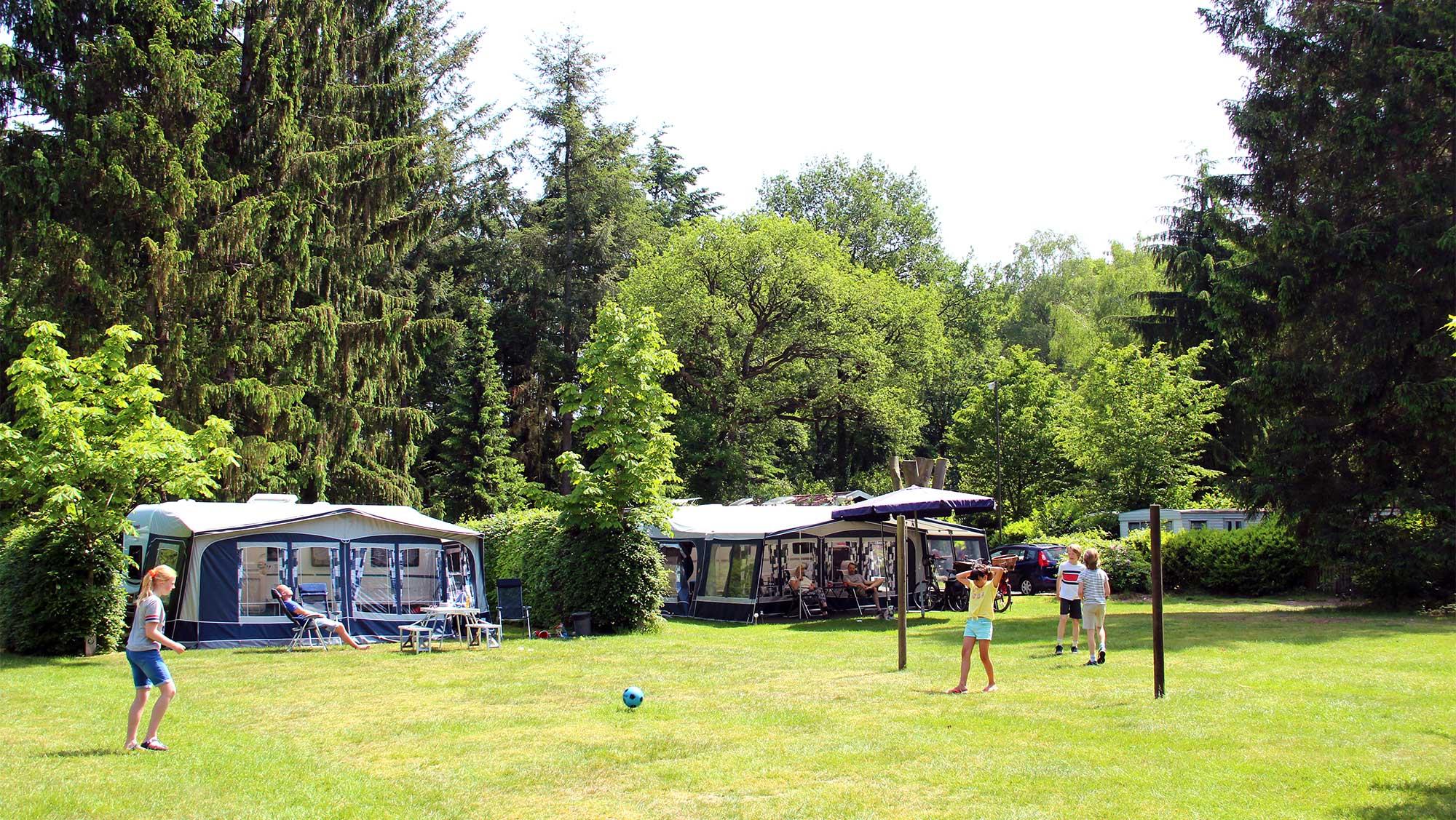 Basisplaats kamperen Molecaten Park Landgoed Molecaten 07