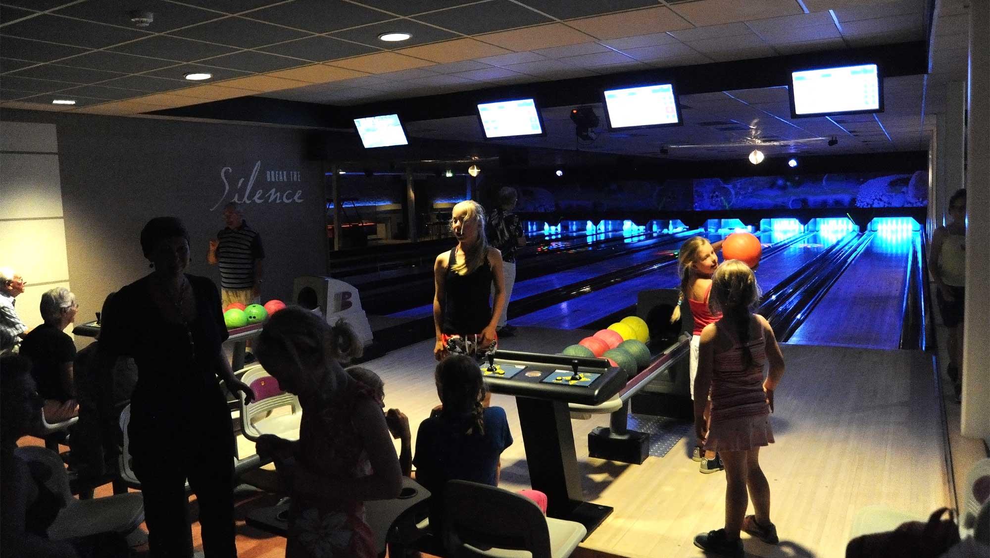 Bowling Bowlz Molecaten Park Landgoed Ginkelduin 03 groepsuitje